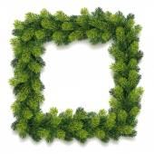 Detailed Christmas Wreath — Stock Vector