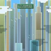 Abstract big city seamless — Stock Vector