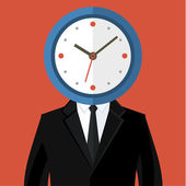 Concept of time management — Stockvektor