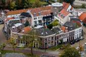 Close Knit Community in city of Zwolle in the Netherlands — Stock Photo