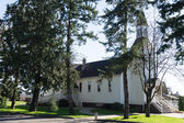 Historic Milner Chapel in Langley British Columbia — Stock Photo