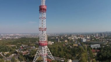 Kiev TV Tower, Ukraine — Stock Video