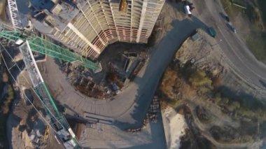 Constructions, Kiev — Stock Video