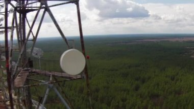 Chernobyl2, Soviet radar system — Stock Video