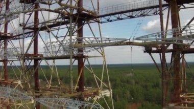 Chernobyl2, sistema de radar Soviética — Vídeo de Stock