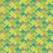 Seamless pattern with flying birds — Stock Vector
