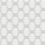 Seamless pattern of broken lines — Stock Vector