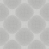 Seamless pattern with linear mesh — Stock Vector