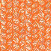 Seamless pattern with braids weaving — Vector de stock
