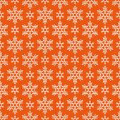Seamless pattern di natale con fiocchi di neve — Vettoriale Stock