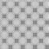 Seamless pattern with linear mesh — Stok Vektör