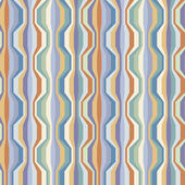 Seamless pattern with broken wavy color strips — Stock vektor