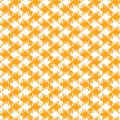 Seamless pattern with stylized birds — Stock Vector