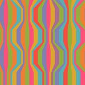 Seamless pattern with color strips — Stock Vector