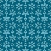 Seamless christmas pattern with snowflakes — Stock Vector