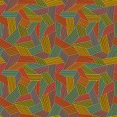 Seamless pattern with color hatch — Stok Vektör