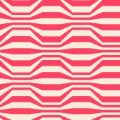 Seamless pattern with red strips — Stock Vector