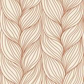 Seamless pattern with braids weaving — 图库矢量图片