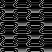 Seamless pattern of broken lines — Stock Vector