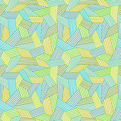 Seamless linear abstract pattern — Stok Vektör