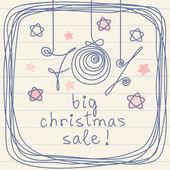 Big Christmas Sale! — Stock Vector