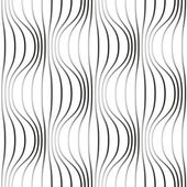 Seamless pattern with wavy line — Stock Vector