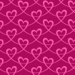 Elegant seamless pattern with hearts — Stock Vector #59621767