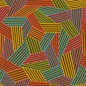 Color abstract linear seamless pattern — Cтоковый вектор