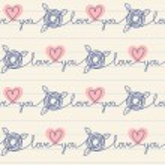 Cute romantic seamless pattern — Stock Vector #59749805