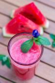Watermelon smoothie — Stock Photo