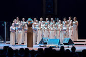 Female Choir Singing — Stock Photo