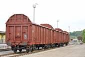 Freight wagons — Zdjęcie stockowe