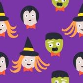 Seamless Pattern. Halloween — Cтоковый вектор