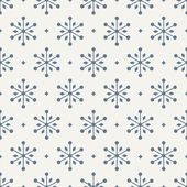 Seamless pattern. snowflake — Stock Vector