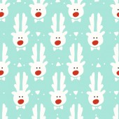 Seamless pattern. reindeer. christmas — Stock vektor