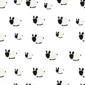 Seamless Pattern. Cute Sheep — Stock vektor