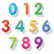 Numbers Set : Balloon Style — Stock Vector #58636159
