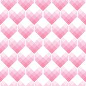 Heart Shapes Seamless Pattern Mosaic Style — Stock Vector