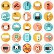 Hotel Accommodation Amenities Services Icons Set B — Stock Vector #70126779