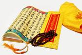 Sutra and Bodhi Beads — Zdjęcie stockowe