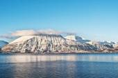 Winter fjords landscape, captured in northern Norway — Photo