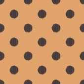 Seamless circle polka dots pattern — Stock Vector
