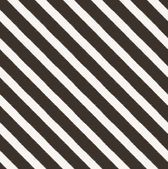 Seamless diagonal black and white stripes fabric pattern — Stock Vector