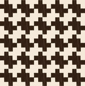 Checkered houndstooth pattern — Stock Vector