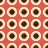 Seamless circle polka dots — Stock Vector