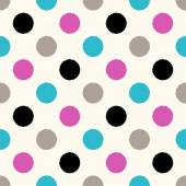 Circle dots pattern — Stock Vector