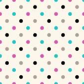 Polka dots pattern — Stock Vector