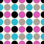 Circle dots pattern — Stock Vector