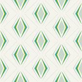 Rhombuses geometric pattern — Stock Vector