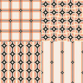 Geometric pattern designs — Vecteur